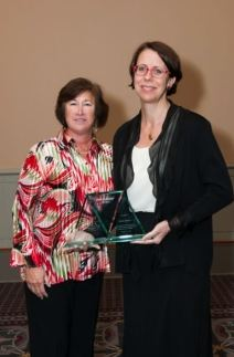 Katrin Hillner Awarded WBE Leadership Award